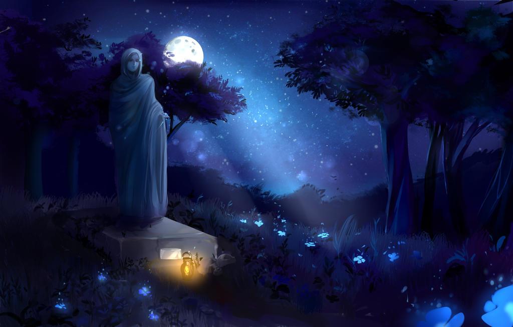 Night poetry by Toro-ro