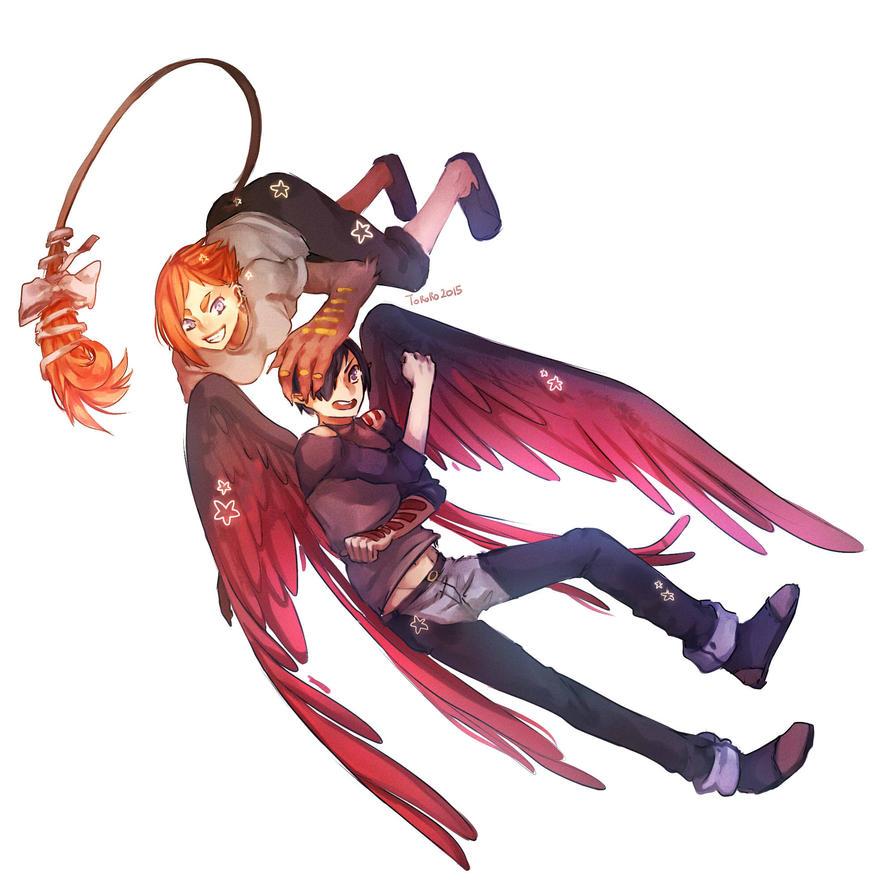 Ansei and Nori comission by Toro-ro