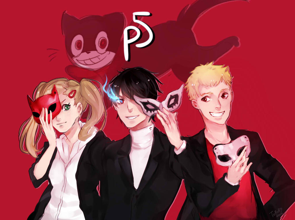 Persona 5 bros by Toro-ro