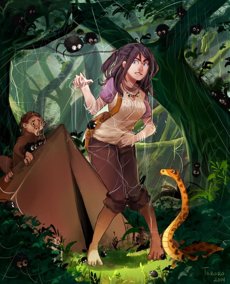 Jungle trap by Toro-ro