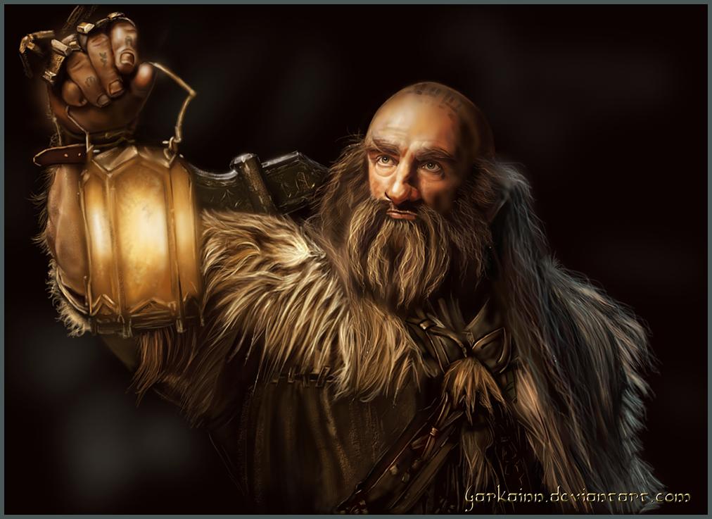 dibujos - el Hobbit  impresionantes dibujos Mr__dwalin_by_garkainn-d6d5guu