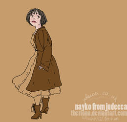 Nayko from Judecca by Theriona