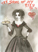 Mrs. Lovett by Kittyfreak66