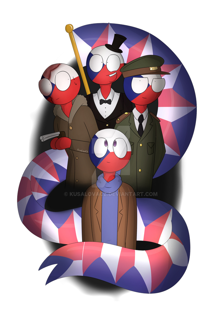 Wave Your Flag [CountryHumans] by KusaLovaCZ on DeviantArt