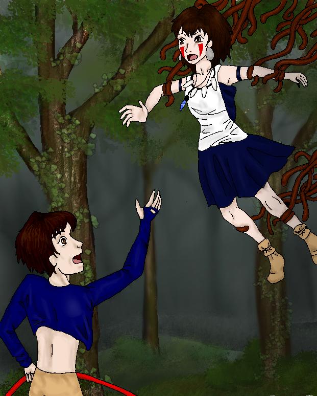 Princess Mononoke and Prince Ashitaka! by Katyrbee on ...