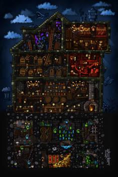 Inn under the rotten dog