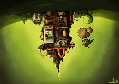 Hanging house (remake)