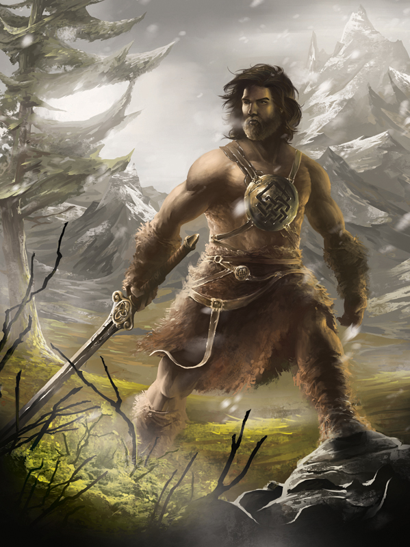 Kord the Barbarian by MaBuArt