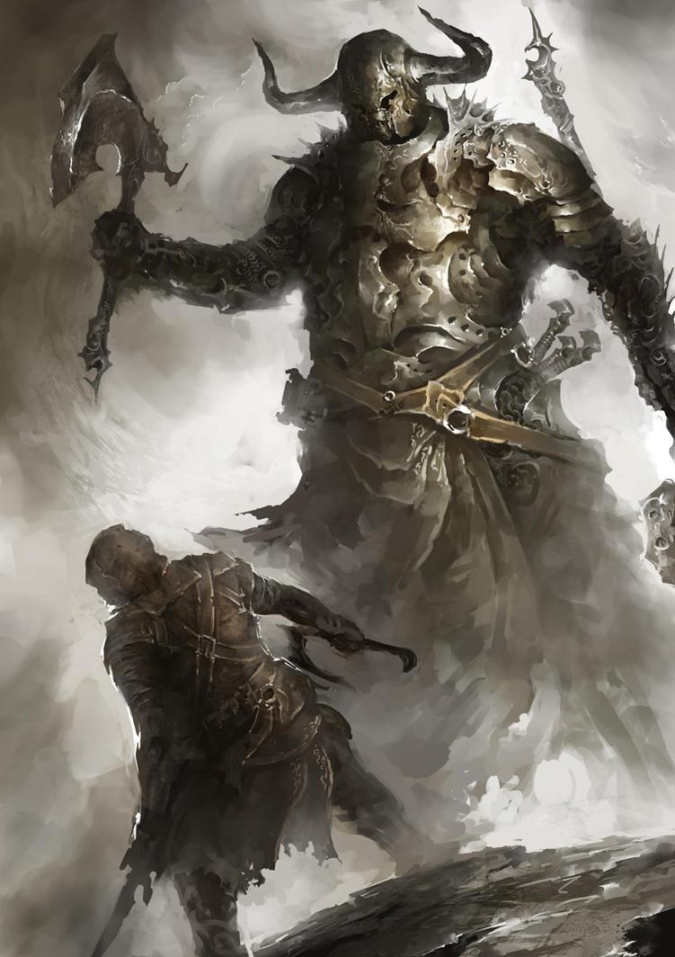 Goliath by MaBuArt on DeviantArt