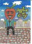Apple Man in the Apple City