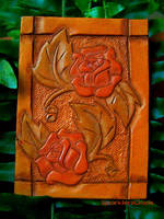 Western Roses - ATC by SparklersOasis