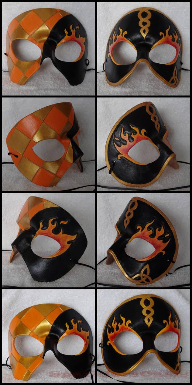 Masquerade mask details