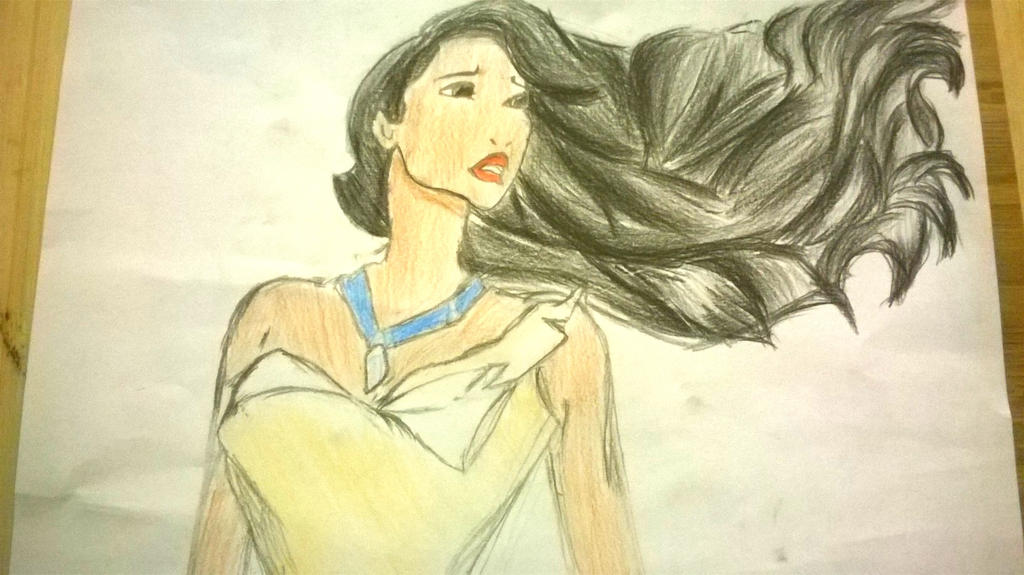 Pocahontas drawing by JJGrace on DeviantArt
