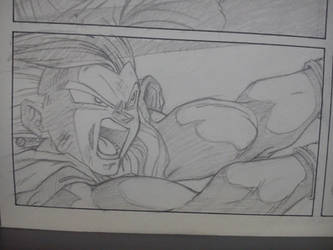 DBM - Storyboard Opening - Vegetto Kame Hame Ha #2 by Animaster3000
