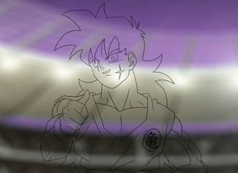 DBM - Opening - Yamcha line art #2 by Animaster3000