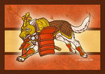 Armor of God wolf