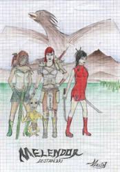 Melandor -pencilcolor- by melhamin