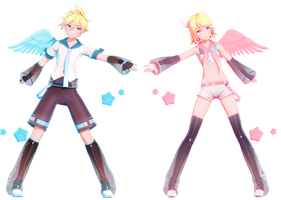 YYB Electric Angel Rin and Len + Download