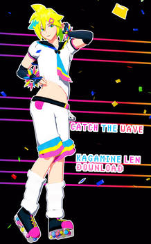 YYB Catch The Wave Kagamine Len [+DL]