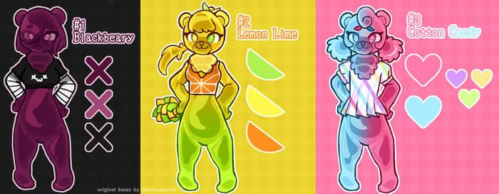 [3/3 OPEN] Gummi Bear Adoptables