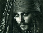 Captain Jack Sparrow portrait