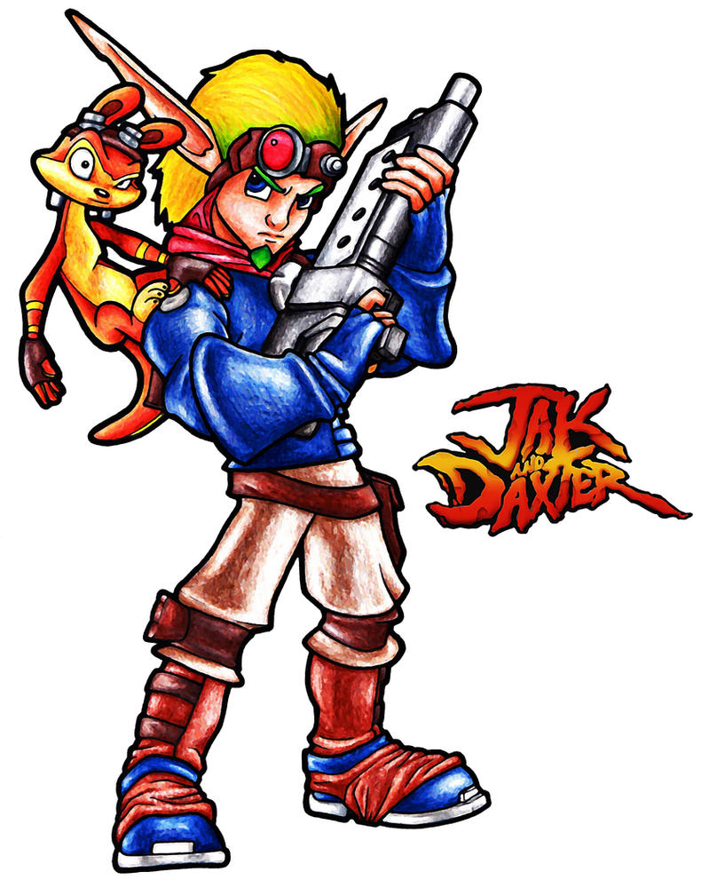 Jak and Daxter by fatgurl06