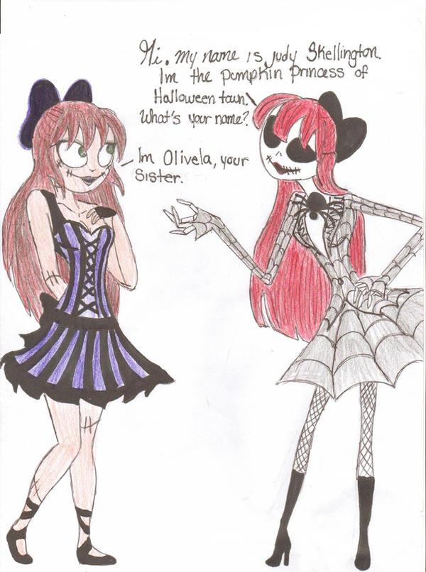Olivella Meets Judy By Db Artwork On Deviantart
