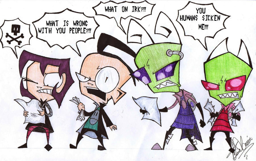 Tak Invader Zim Fan Art