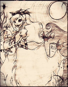 The princess of Halloween Town