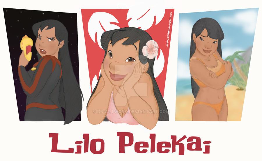 Lilo's Personalities by jackfreak1994