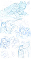 HTTYD and LS sketches