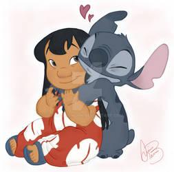 Stitch's love