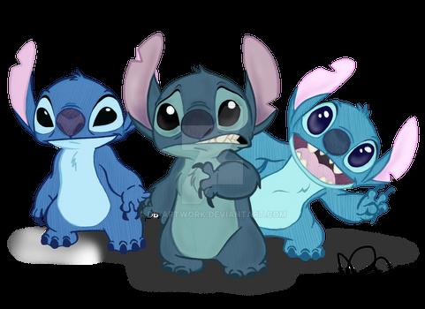 Stitch's Unfortunate Evolution