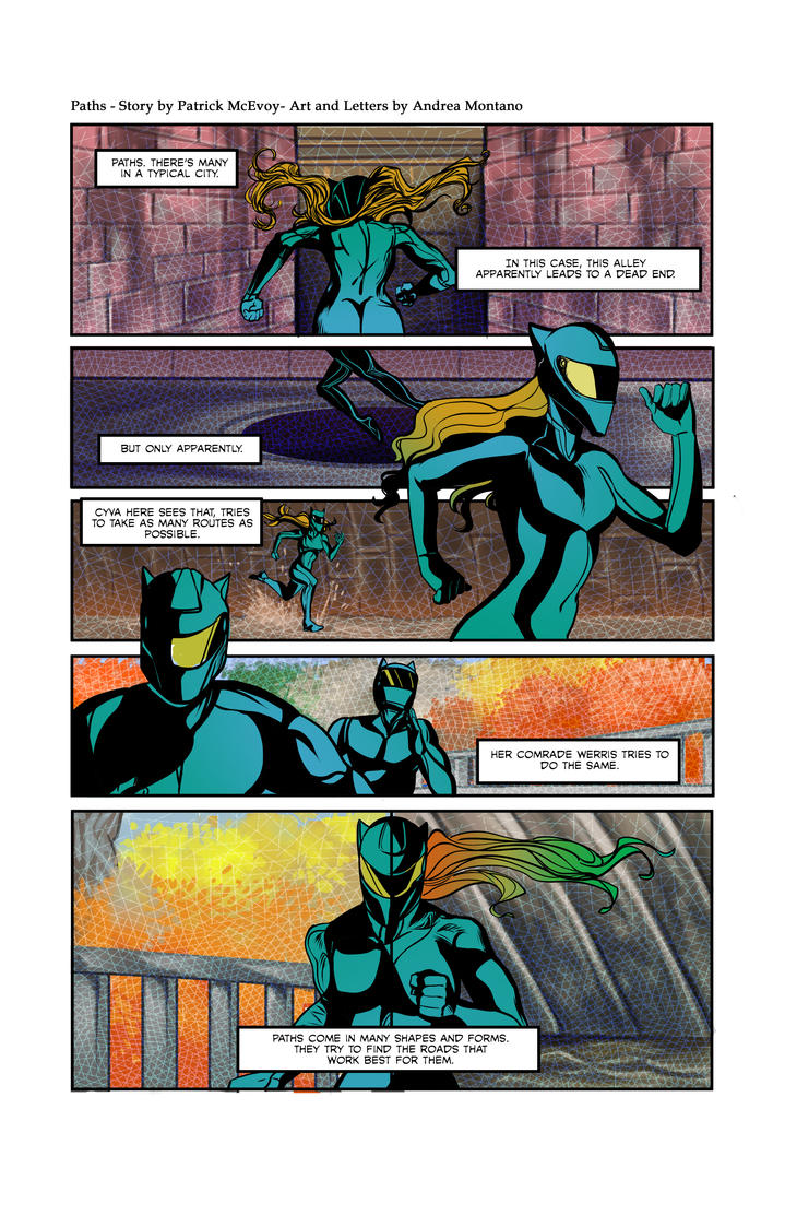 Paths, Page 1 by PJM74