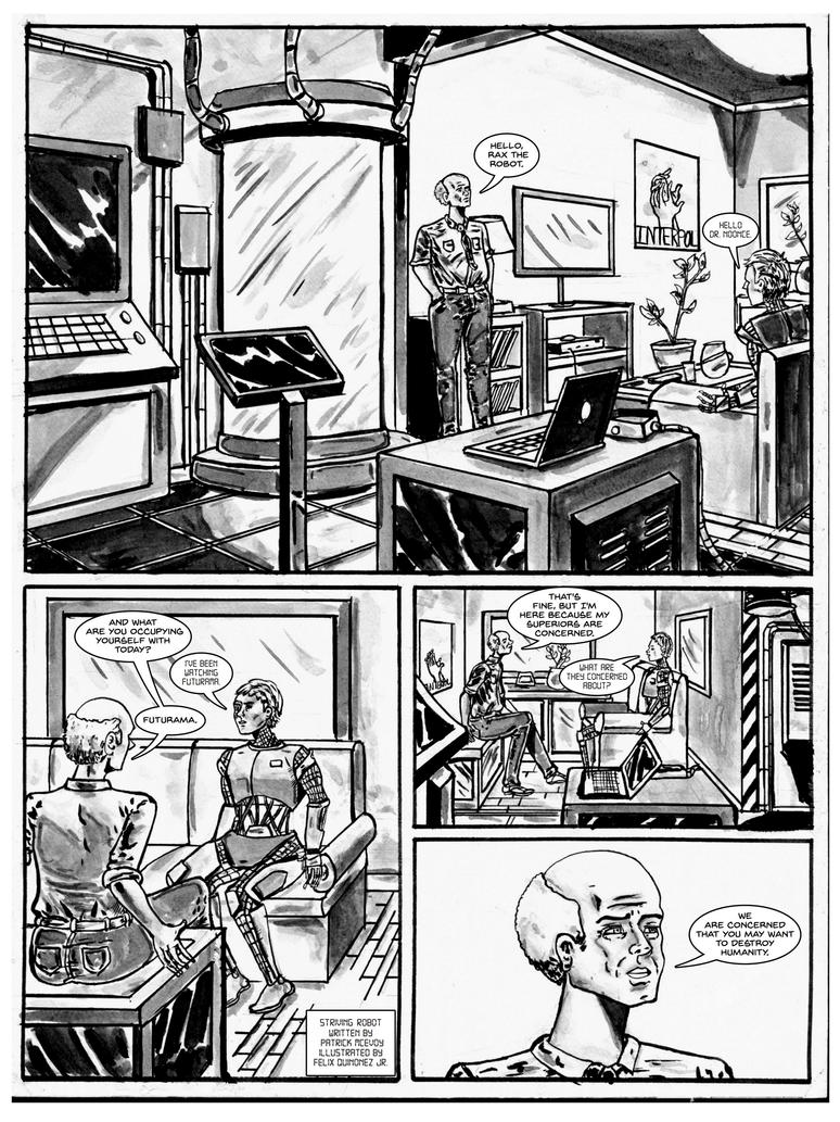 Striving Robot Page 1 by PJM74