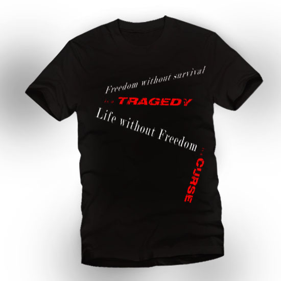 freedom-t-shirt by prime512