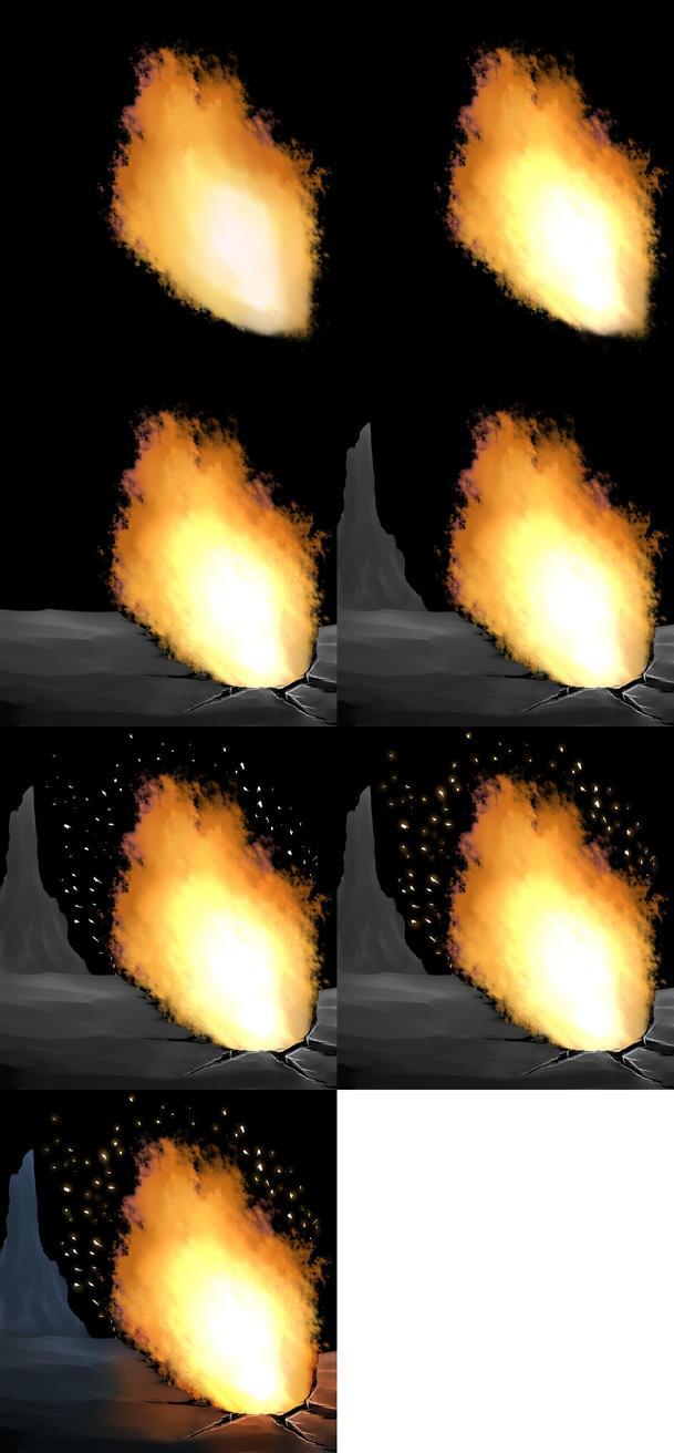 how to paint fire in paint too sai by prime512 on DeviantArt