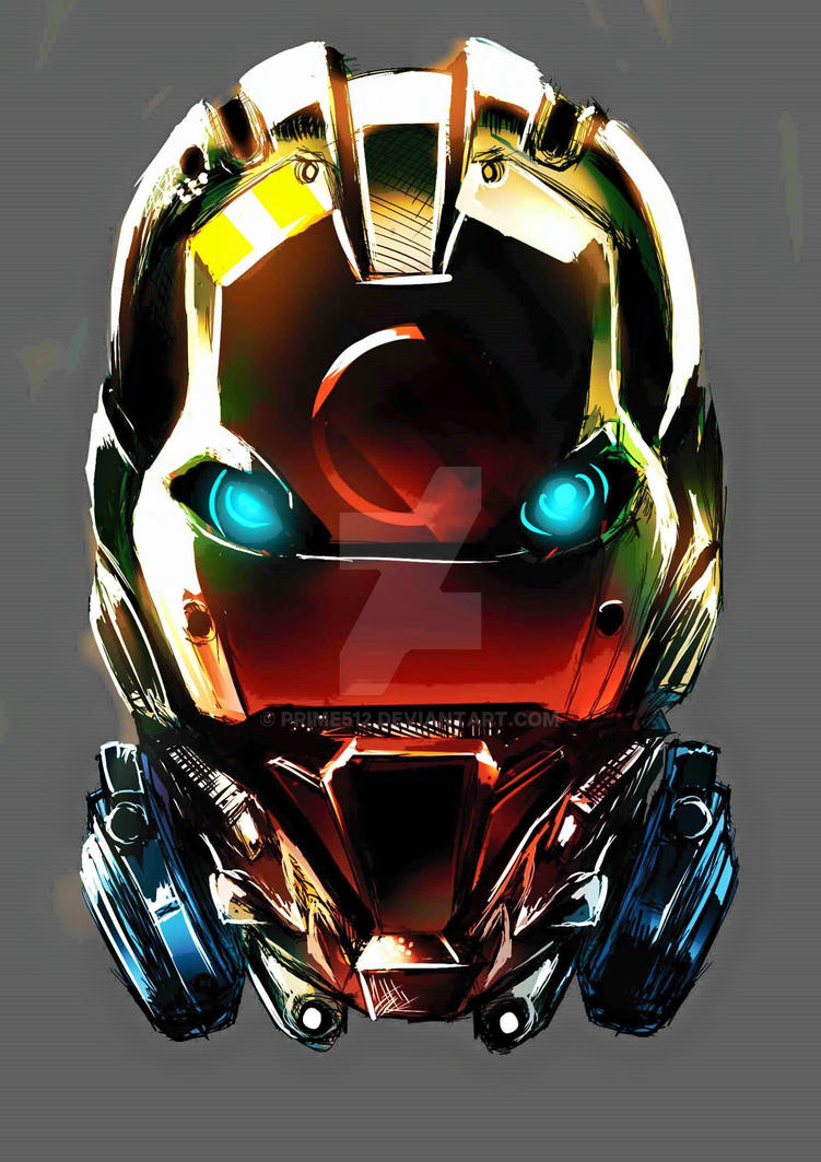 iron man by prime512
