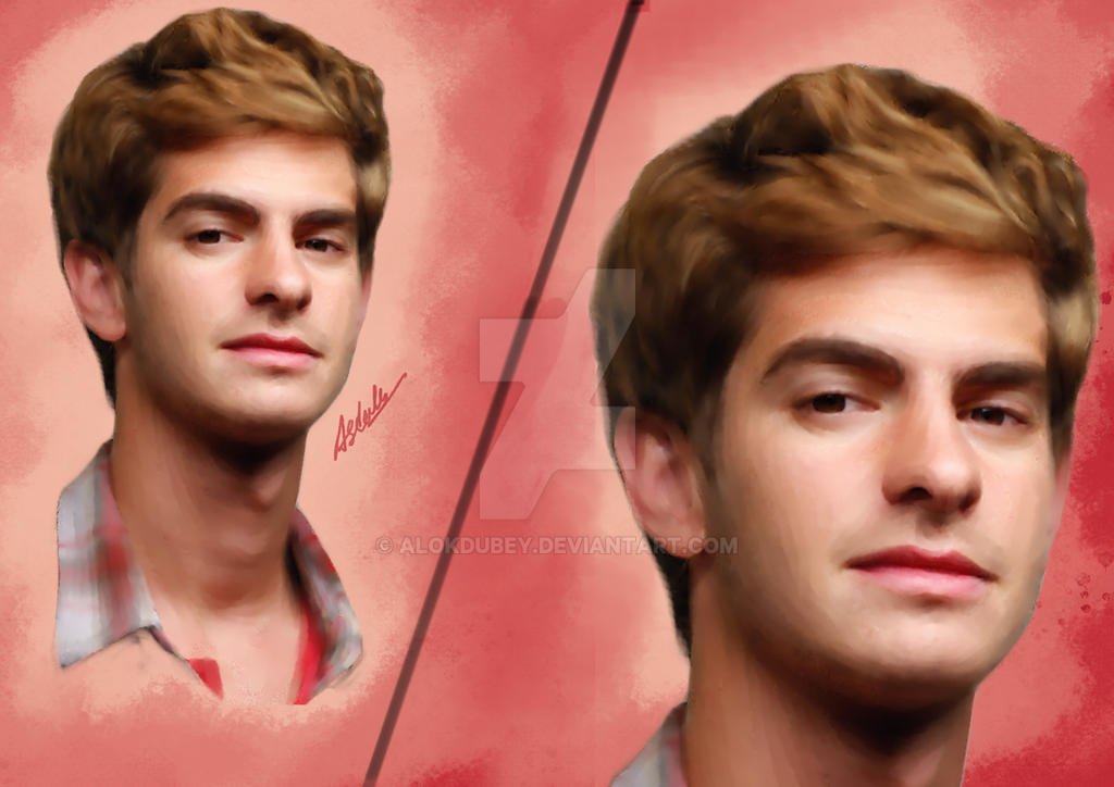 Commission-3 Andrew Garfield by ALOKDUBEY