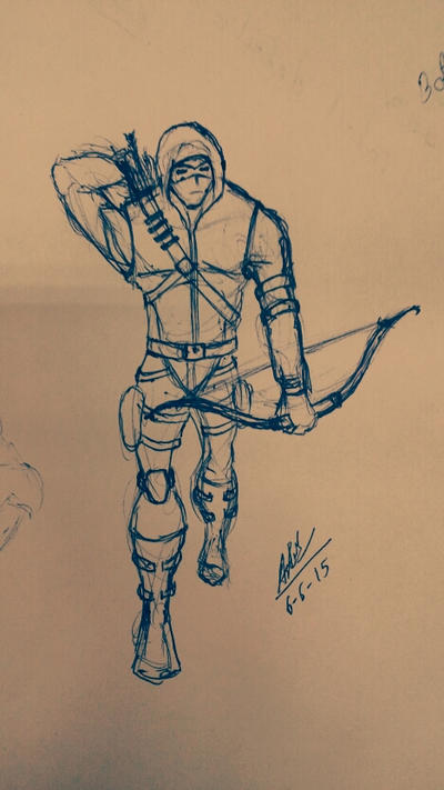 Green Arrow by ALOKDUBEY