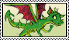 How to train your dragon (books) stamp by Shathakin