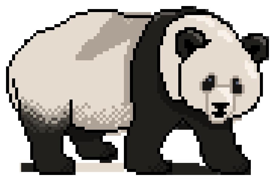 Photo Collection Pixel Panda Tumblr