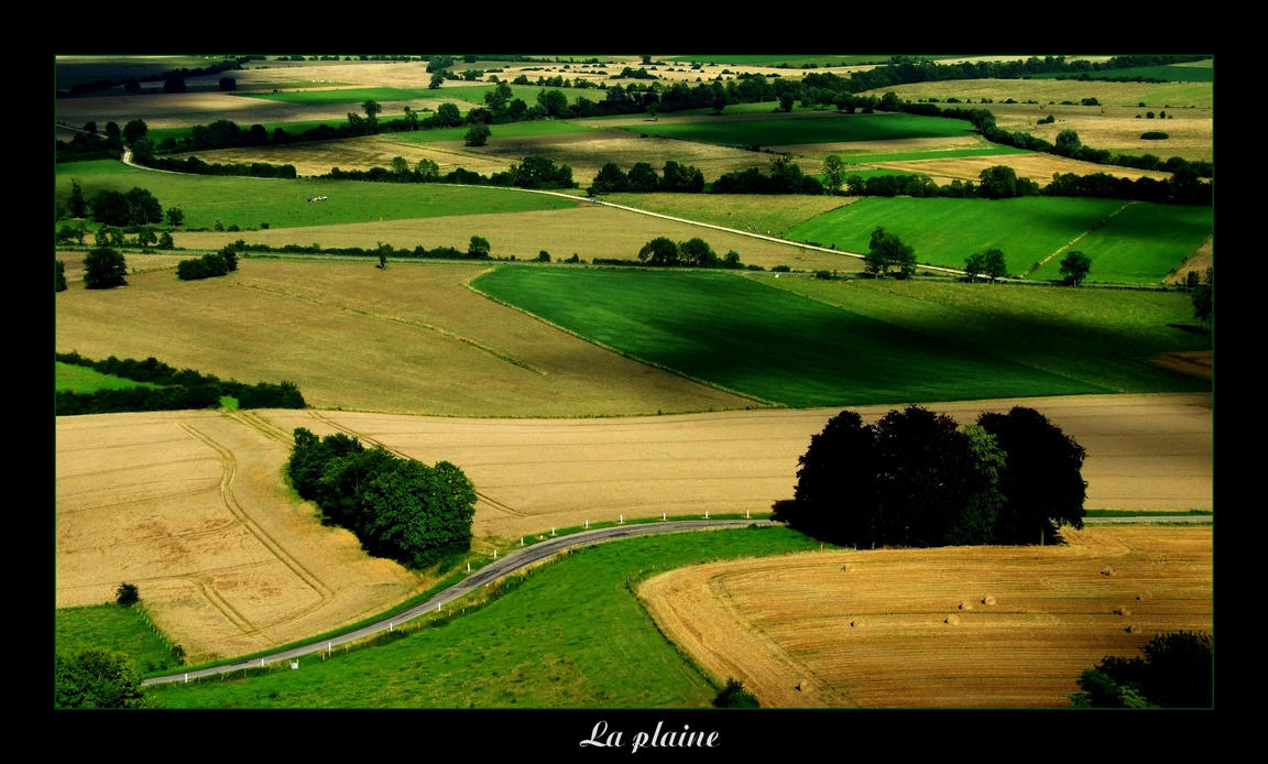 La plaine by Hocusfocus55