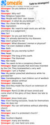 Religious Omegle Chat Log by Miel67