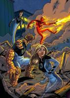 Ultimate Fantastic Four by mcguinnessjohn