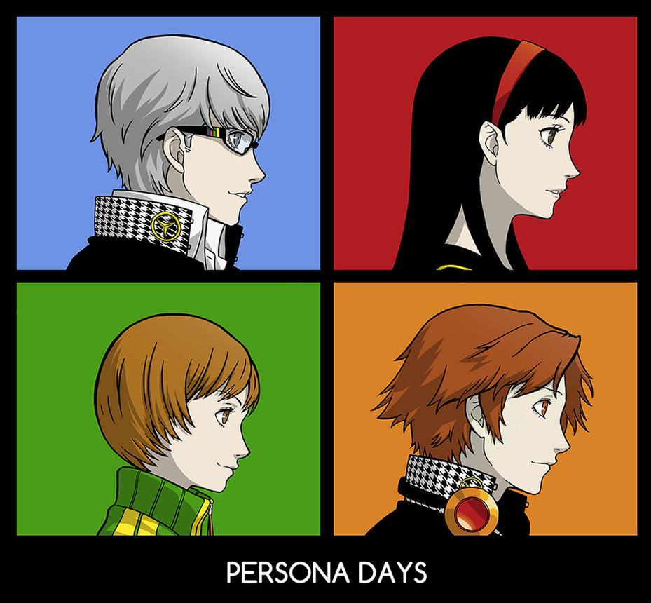 Persona Days by mcguinnessjohn