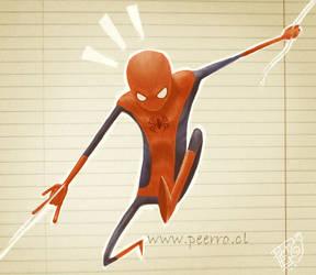 The amazing Spider-man by peerro