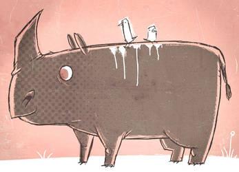 Rhino by peerro