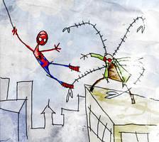 spiderman by peerro
