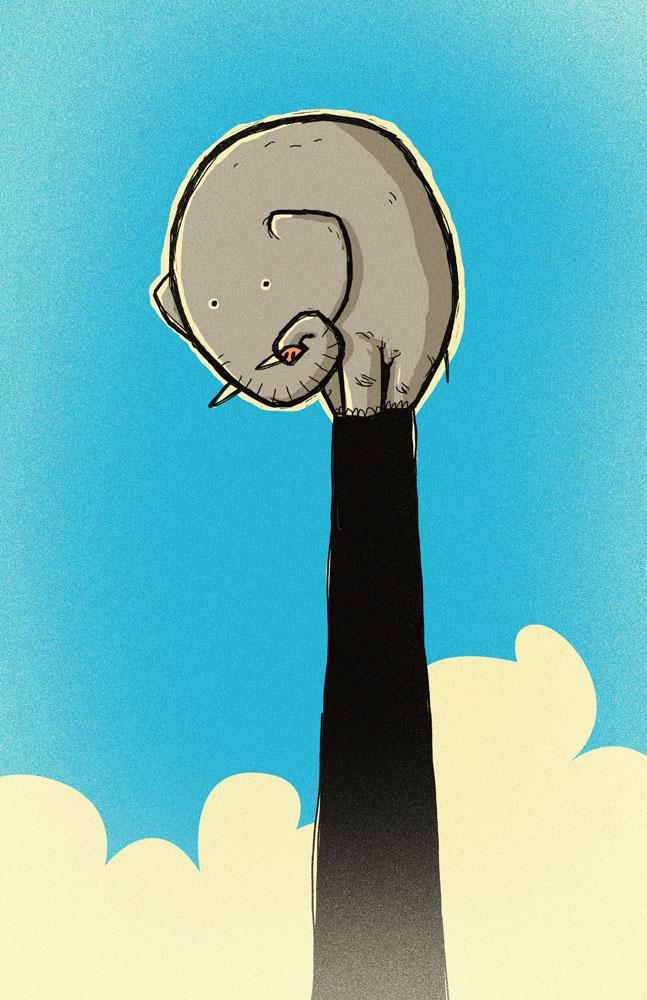 Elefante by peerro